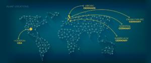 genan, plants, worldwide, map